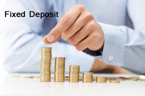 ফিক্সড ডিপোজিট অ্যাকাউন্ট ( Fixed deposit Account )