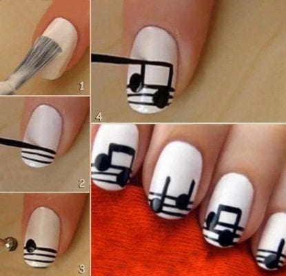 মিউজিক্যাল নেইল আর্ট (Musical Nail Art)