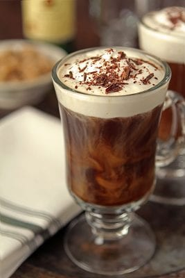 আইরিশ কফি (irish coffee)