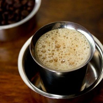 ভারতীয় ফিল্টার কফি (Indian filter coffee)