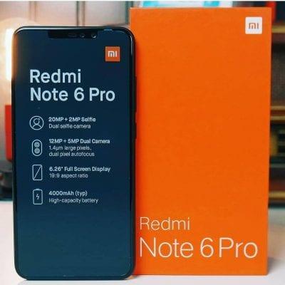 শাওমি রেডমি নোট ৬ প্রো (Xiaomi Redmi Note 6 Pro)