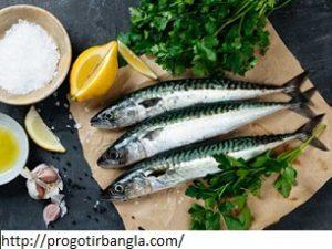 মাছ ভিটামিন ই সমৃদ্ধ খাবারঃ