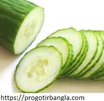 শসার পুষ্টিগুণের উপকারিতা (Nutritional benefits of cucumber)