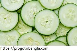 শসার পুষ্টিগুণ (Cucumber nutrition)