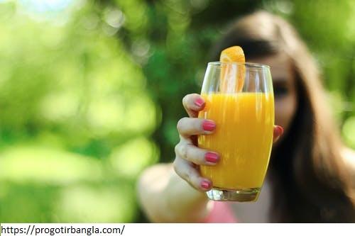কমলালেবুর রস (Orange juice)