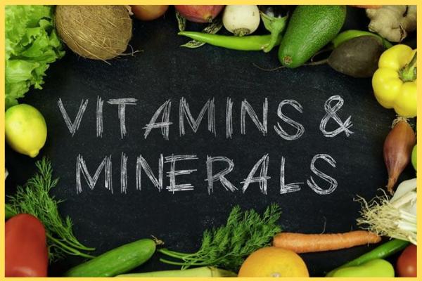 ভিটামিন ও মিনারেল (Vitamins and minerals)